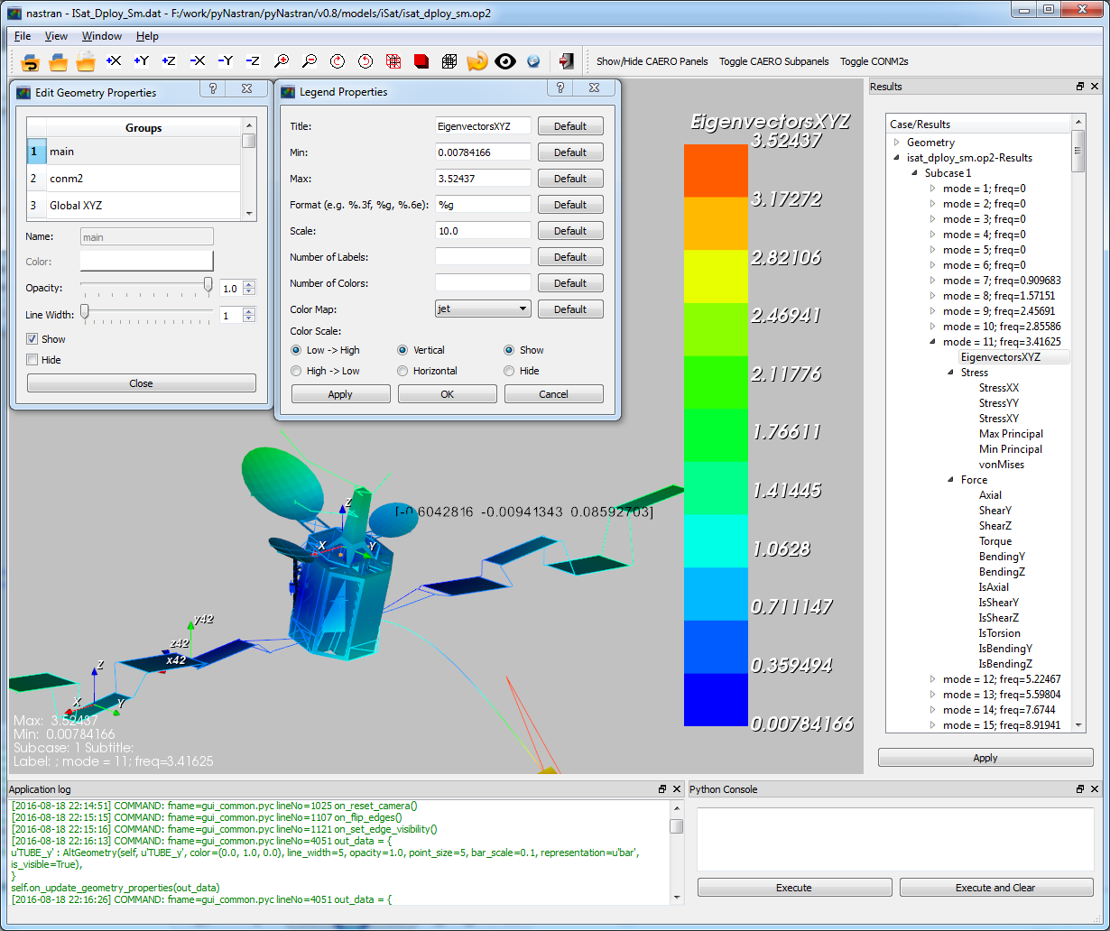 Graphical User Interface (GUI) — pyNastran 1 3-dev 1 3-dev